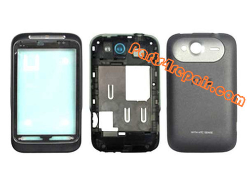 Housing Cover Assembly for HTC Wildfire S -Black