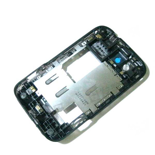 HTC Wildfire S Middle Chassis -Black