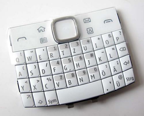 Nokia E6 Keypad White