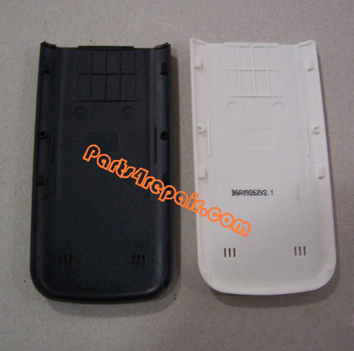 Back Cover for Nokia 6730 Classic -Black