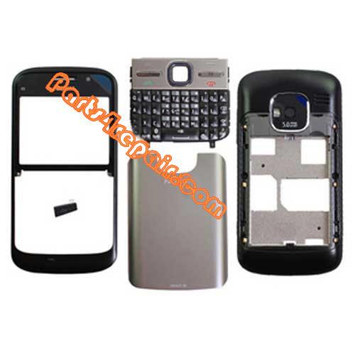 Housing Cover with Keypad for Nokia E5 -Black