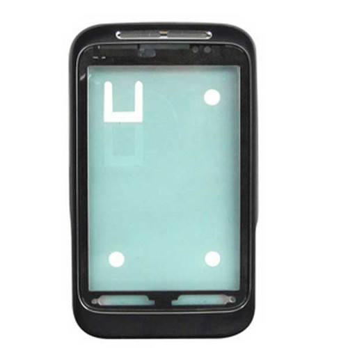 HTC Wildfire S Front Cover Black