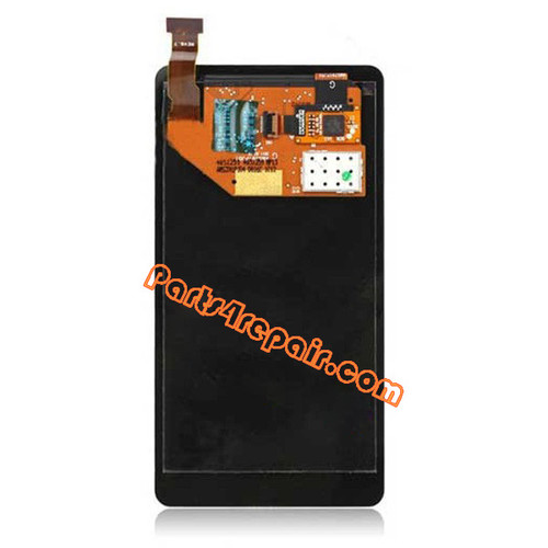 Complete Screen Assembly without Bezel for Nokia Lumia 800