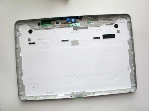 Back Cover with Side Buttons for Samsung P7500/P7510 -White
