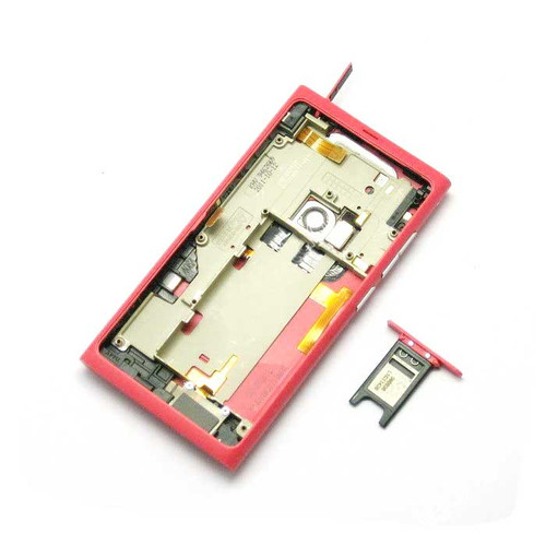Full Housing Cover for Nokia N9 -Red
