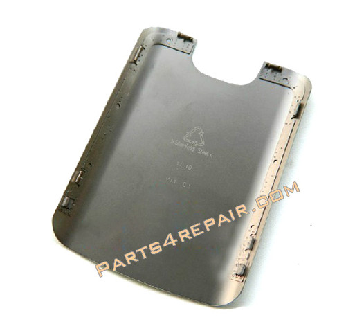 Back Cover Replacement for Nokia E5 -Silver