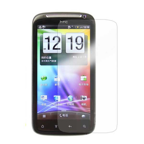 HTC Wildfire S Clear Screen Protector Shield Film -3X