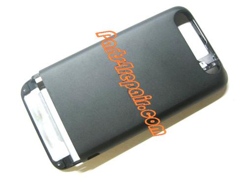 Metal Frame Battery Cover for HTC One V -Black