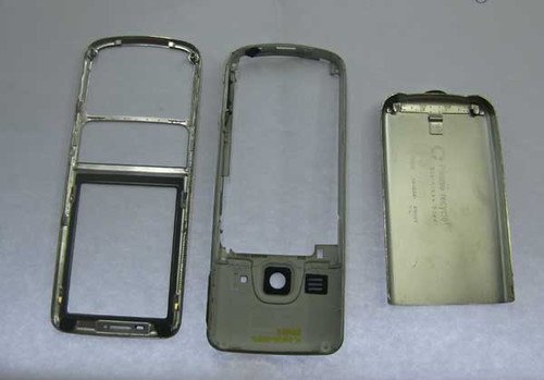 Full Housing Cover without Keypad for Nokia 6700 Classic  -Gold
