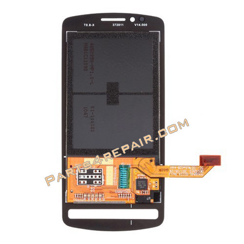 Complete Screen Assembly without Bezel for Nokia 700 -Black