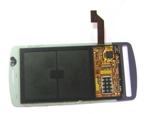 Complete Screen Assembly without Bezel for Nokia 700 -White