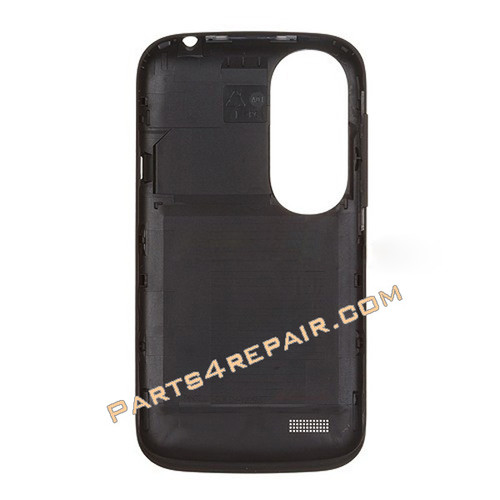 Back Cover for HTC Desire V -Black