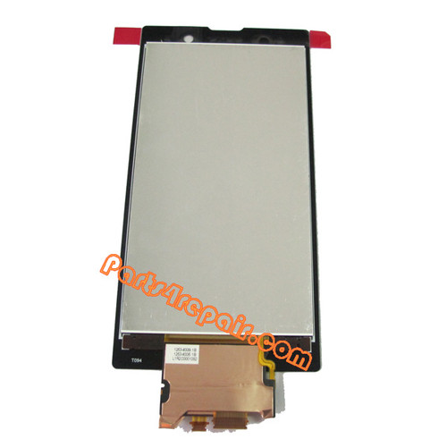 Sony Xperia ion LTE LT28 Complete Screen Assembly without Bezel from www.parts4repair.com