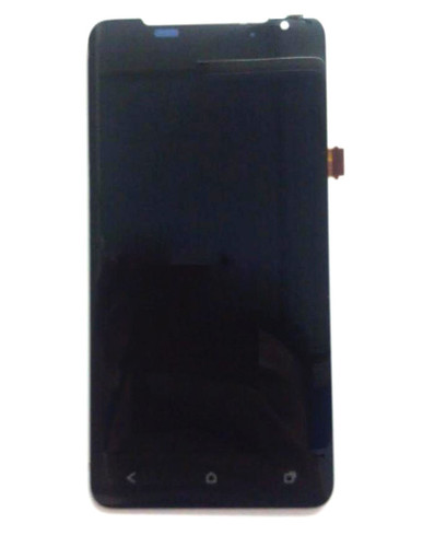 Complete Screen Assembly without Bezel for HTC J Z321E -Black