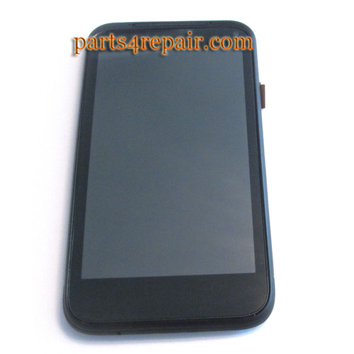 HTC Incredible S G11 Complete Screen Assembly with Bezel (Used)