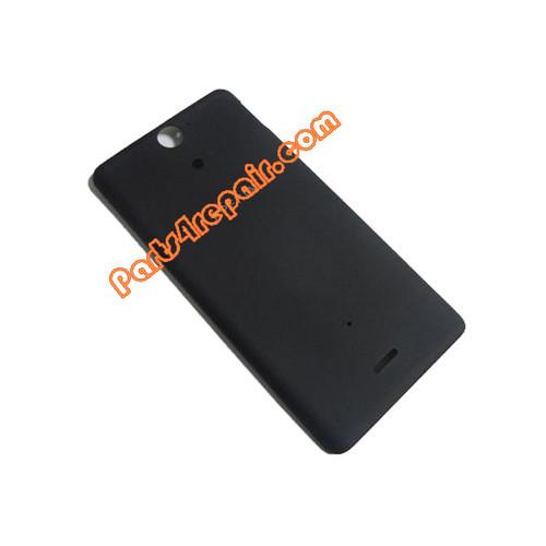 Back Cover for Sony Xperia V LT25 -Black
