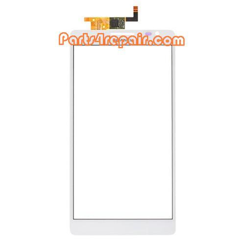 Touch Screen Digitizer for Huawei Ascend Mate MT1-U06 -White