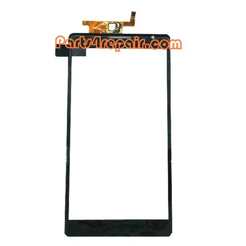 Touch Screen Digitizer for Huawei Ascend Mate MT1-U06 -Black