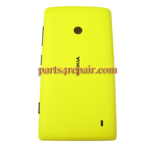 Back Cover for Nokia Lumia 520 -Yellow