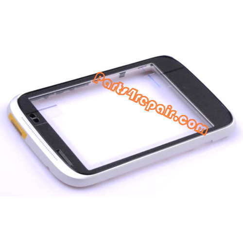 Front Housing Cover for HTC Desire C -Silver