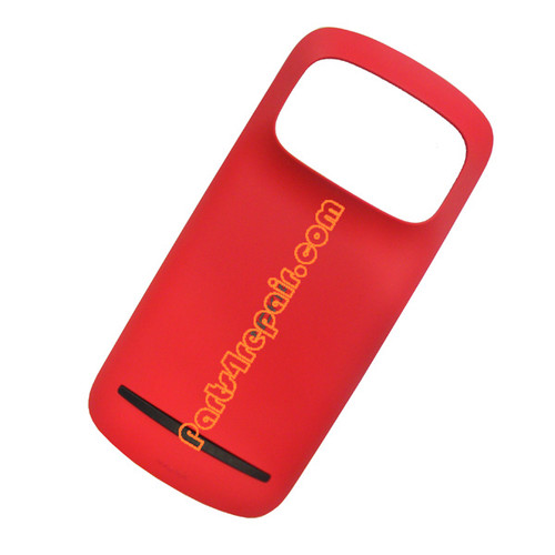Back Cover with NFC for Nokia 808 Pureview -Red