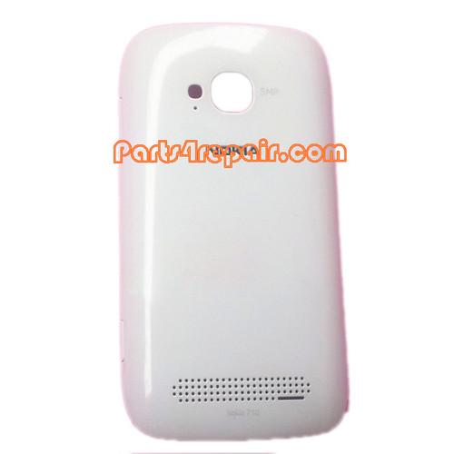 Back Cover for Nokia Lumia 710 -White