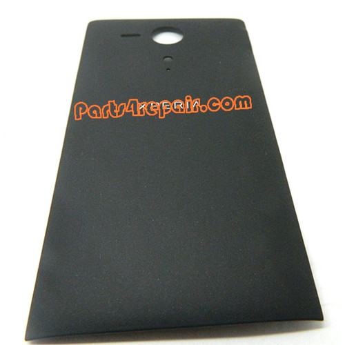 Back Cover for Sony Xperia SP m35h -Black