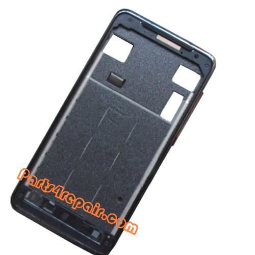 LCD Bezel for HTC J Z321E -Black