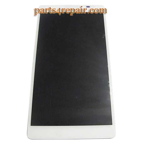 Complete Screen Assembly for Huawei Ascend Mate MT1-U06 -White