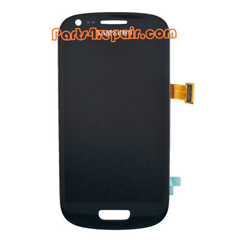 Complete Screen Assembly for Samsung I8190 Galaxy S III mini -Blue