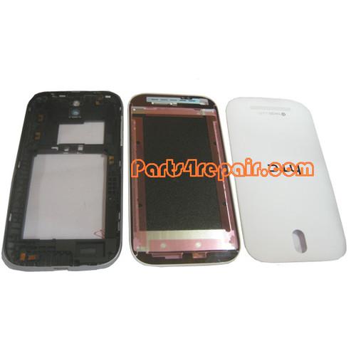 Full Housing Cover for HTC One SV -White