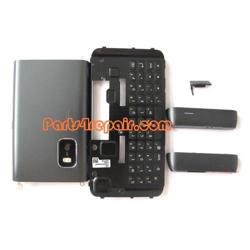 Full Housing Cover for Nokia E7 / E7-00 -Black