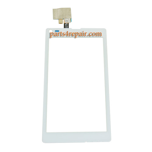 Touch Screen Digitizer for Sony Xperia L S36H -White