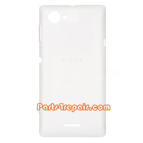 Back Cover for Sony Xperia L S36H -White