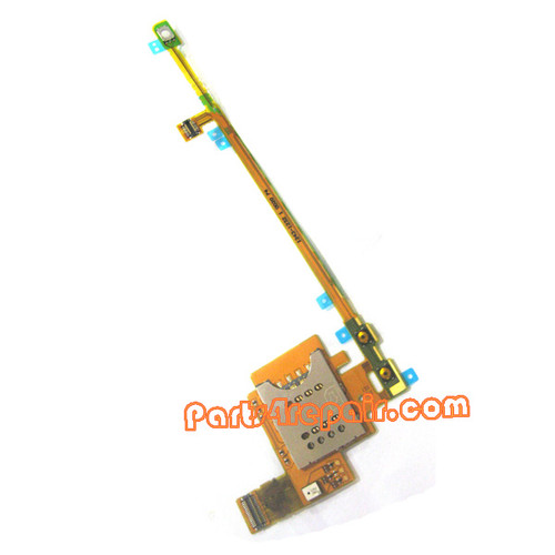 SIM Holder Flex Cable for Sony Ericsson Xperia Pro MK16I