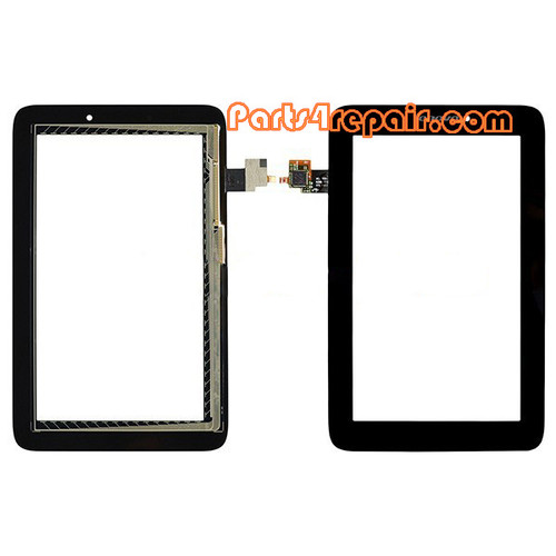 Touch Screen Digitizer for Lenovo Idea Tab A2107 -Black