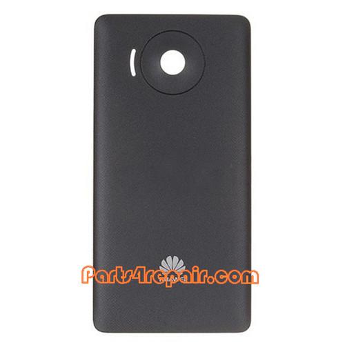 Back Cover for Huawei Ascend Y300 U8833 -Black