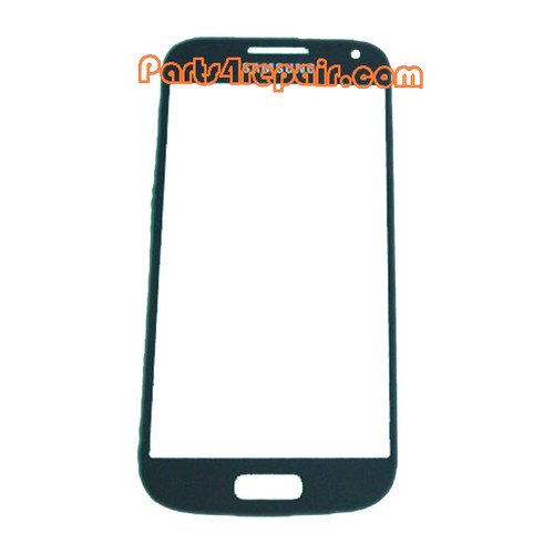 Front Glass Lens for Samsung I9190 Galaxy S4 mini -Black