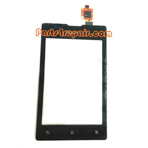 Touch Screen Digitizer for Sony Xperia E C1505 -Black