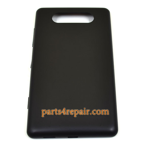 Back Cover without NFC for Nokia Lumia 820 -Black