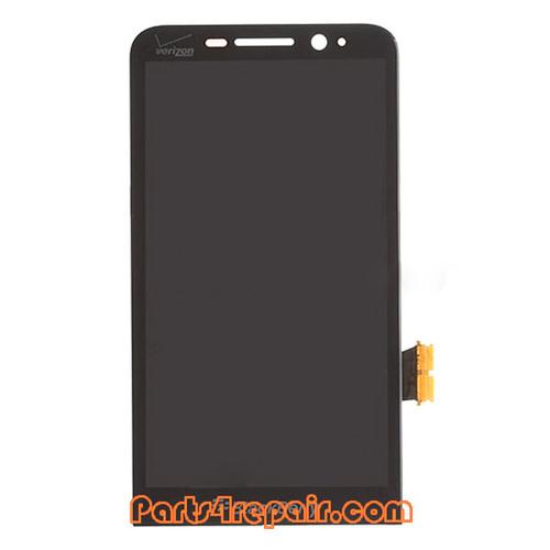 Complete Screen Assembly for BlackBerry Z30 (for Verizon) -Black