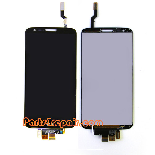 Complete Screen Assembly for LG G2 D802 -Black