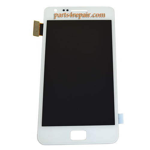 Complete Screen Assembly OEM for Samsung I9100 Galaxy S II -White