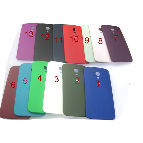 Back Cover for Motorola Moto X XT1058 -Purplish Red