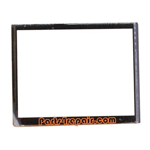 Front Glass Lens OEM for BlackBerry Bold 9780 -Black