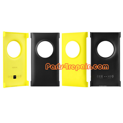 CC-3066 Wireless Charging Shell Cover Case for Nokia Lumia 1020 -Yellow