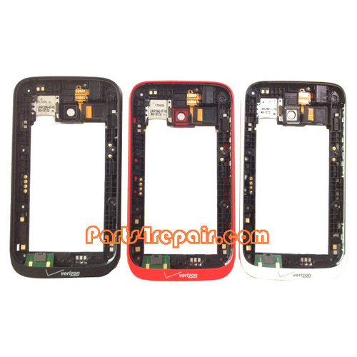 Middle Frame for Nokia Lumia 822 -Red