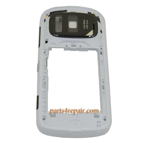 Middle Frame for Nokia 808 Pureview -White