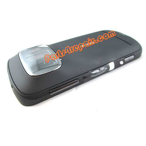 Full Housing Cover for Nokia 808 Pureview -Black