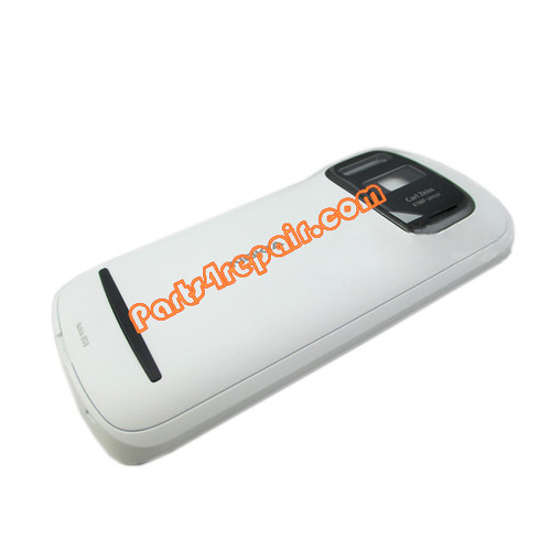 Full Housing Cover for Nokia 808 Pureview -White